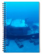 St. Anthony Wreck Spiral Notebook