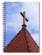 St. Augustine Cross 2 090118 Spiral Notebook