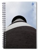St. Augustine Lighthouse - From The Bottom Up Spiral Notebook