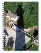 St. Augustine Lighthouse Shadow Spiral Notebook