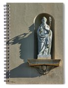 St. Augustine Of Hippo Spiral Notebook