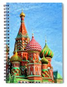 St. Basil's Cathedral Moscow Spiral Notebook