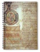 St. Bede, Manuscript Spiral Notebook