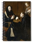 St Benedict Blesses The Bread Spiral Notebook
