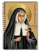 St. Bernadette Of Lourdes - Jcbsl Spiral Notebook