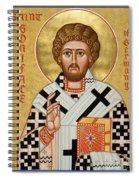 St. Boniface Of Germany - Jcbon Spiral Notebook