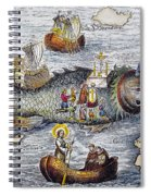 St. Brendan: Mass Spiral Notebook
