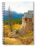 St. Catherine's Church In Autumn Spiral Notebook