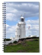 St. Catherine's Lighthouse On The Isle Of Wight Spiral Notebook