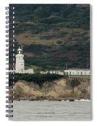 St Catherine's Lighthouse Spiral Notebook