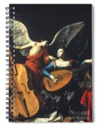 St. Cecilia And The Angel Spiral Notebook