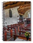 St Celynnin Church  Interior Spiral Notebook