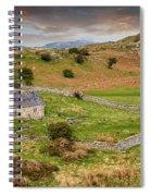 St Celynnin Church Sunset Spiral Notebook