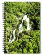St Columba Falls Tasmania Spiral Notebook
