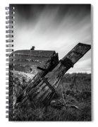 St Cyrus Wreck Spiral Notebook