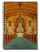 St Edward Interior Spiral Notebook