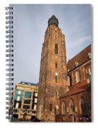 St. Elizabeth's Church Tower In Wroclaw Spiral Notebook