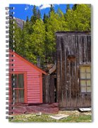 St. Elmo Pink House And Barn Spiral Notebook