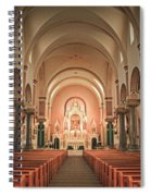 Saint Fidelis Spiral Notebook