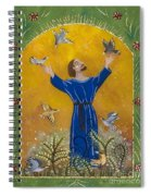 St. Francis And Birds Spiral Notebook