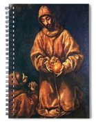 St Francis And Brother Rufus 1606 Spiral Notebook