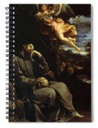 St Francis Consoled Spiral Notebook