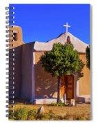 St. Francis De Assisi Adobe Church Spiral Notebook