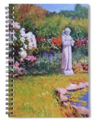 St. Francis In The Garden Spiral Notebook