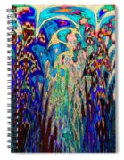 St Francis In The Garden Spiral Notebook
