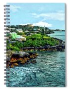 St. George Bermuda Shoreline Spiral Notebook