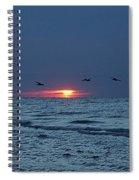 St. George Island Sunrise Spiral Notebook