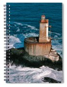 St. George Reef Light Spiral Notebook