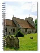 St George's Church At Arreton Spiral Notebook