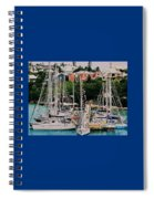 St. George's Yacht Club Bermuda Spiral Notebook