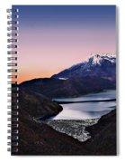 St Helens After Sunset Spiral Notebook