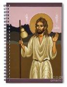 St Ignatius The Pilgrim 021 Spiral Notebook