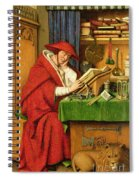 St. Jerome In His Study  Spiral Notebook