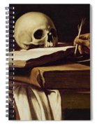 St. Jerome Writing Spiral Notebook