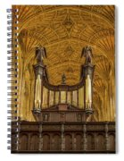 Kings College Chapel Spiral Notebook
