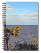 St. Johns River Meets The Ocean Spiral Notebook