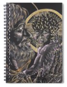 St. Joseph And The Child Jesus Spiral Notebook