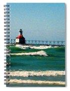 St. Joseph River Lighthouse Spiral Notebook