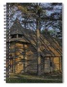 St Jude Chapel Montauk Mo Color Dsc02599 Spiral Notebook