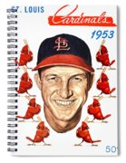 St. Louis Cardinals 1953 Yearbook Spiral Notebook