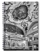 St. Louis Cathedral 2 Monochrome Spiral Notebook