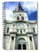 St. Louis Cathedral - Nola- Art Spiral Notebook