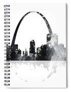St Louis Missouri Skyline Spiral Notebook