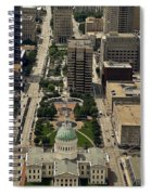 St. Louis Overview Spiral Notebook