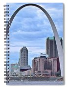 St Louis Panoramic View Spiral Notebook