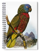 St Lucia Amazon Parrot Spiral Notebook